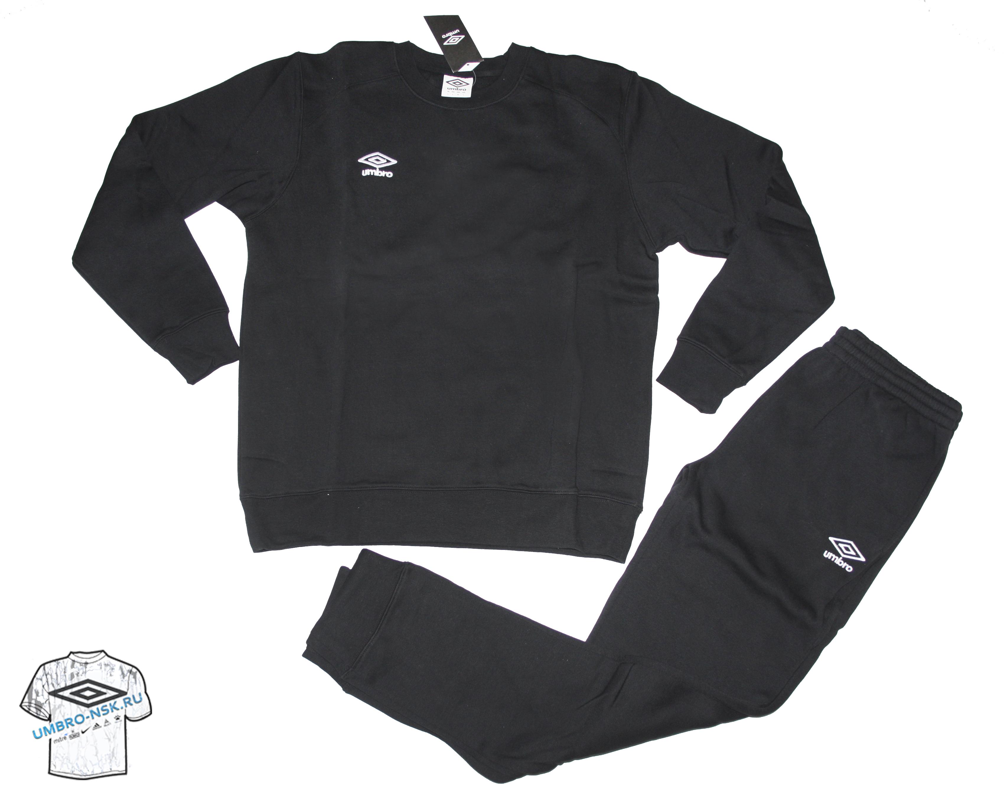 чёрный спортивный костюм Umbro Uniform Cotton