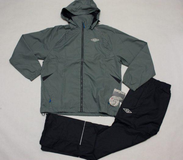 Серый спортивный костюм Umbro Cambel