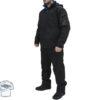 Чёрный утеплённый костюм Umbro Azel