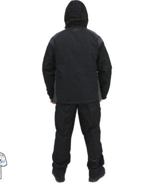 утеплённый костюм UMBRO AZEL BLACK спина