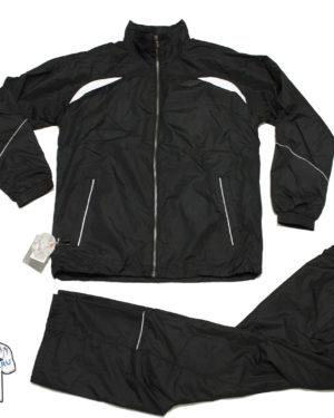 Чёрный спортивный костюм Umbro Wilson