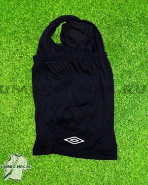 Тёмно-синие шорты Umbro с подкладом