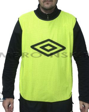 Футбольные манишки Umbro Logo 340118