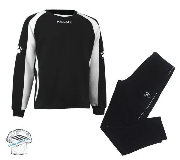Тренировочный костюм kelme чёрный