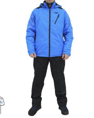 Светло-синий утеплённый костюм Umbro Azel