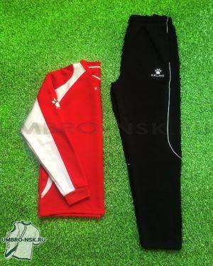 Утеплённый костюм Kelme Tracksuit 71281-145 красный