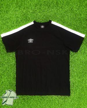 Чёрно-белая футболка Umbro Avante Cotton Tee 310117