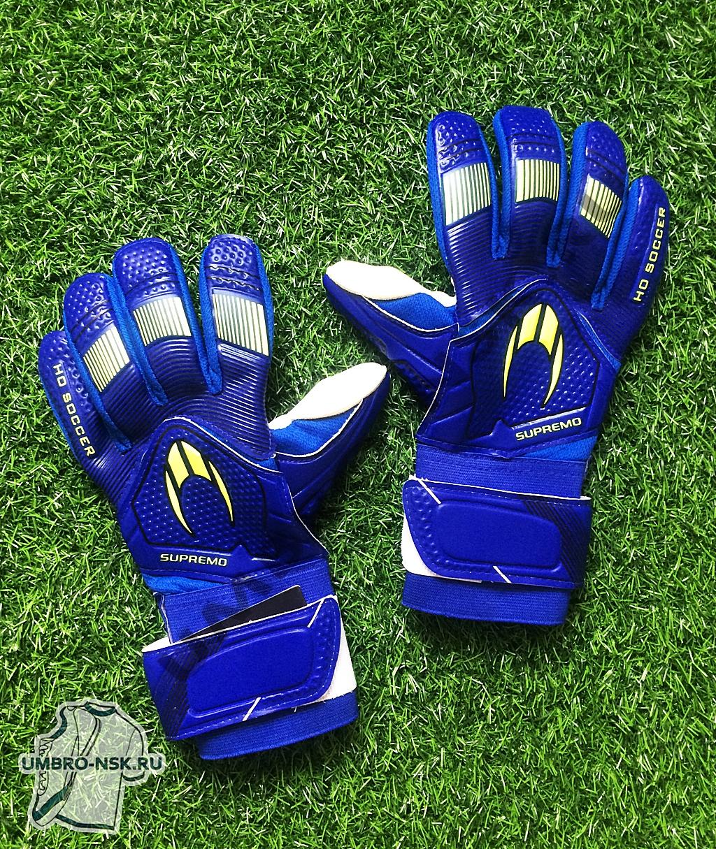 Вратарские перчатки Вратарские перчатки HO Soccer Clone Supremo II Negativу Storm