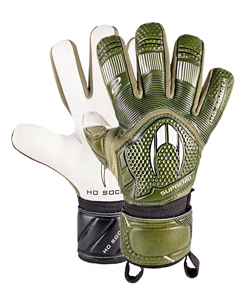 Перчатки HO Soccer Clone Supremo II Negative Army 051.0714