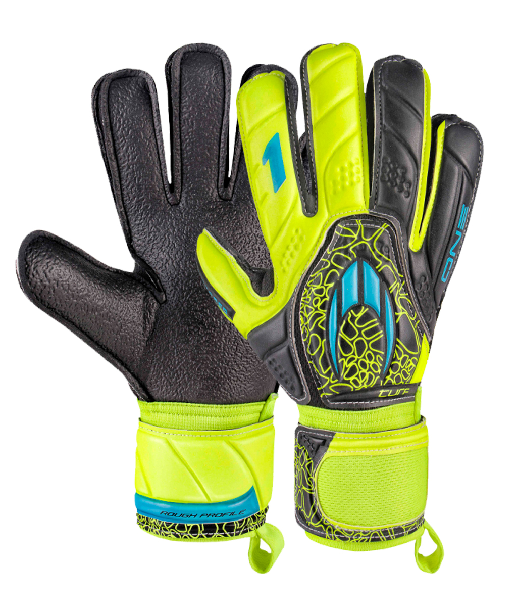 Перчатки HO Soccer One Flat Turf Power Lime 051.0713