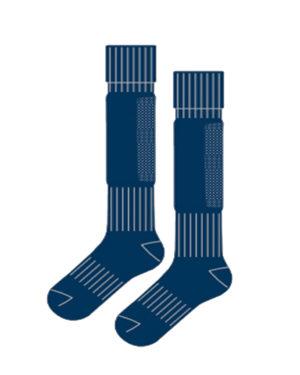 Гетры футбольные с хлопковым носком