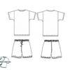 Футбольная форма на заказ (Футболка + шорты)