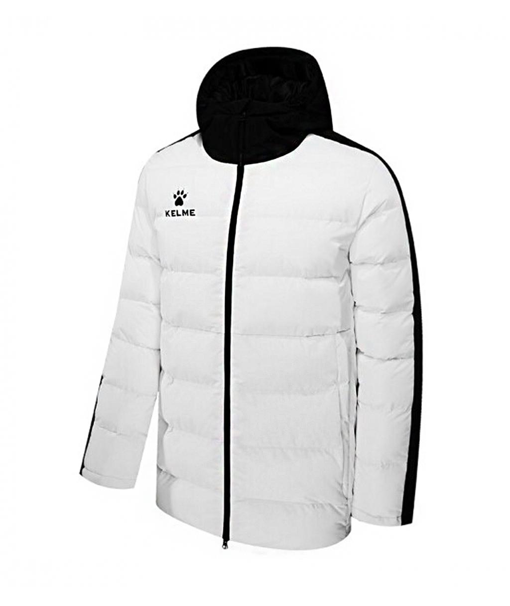 Белая утеплённая куртка Kelme Adult Padded Jacket 3881405-100
