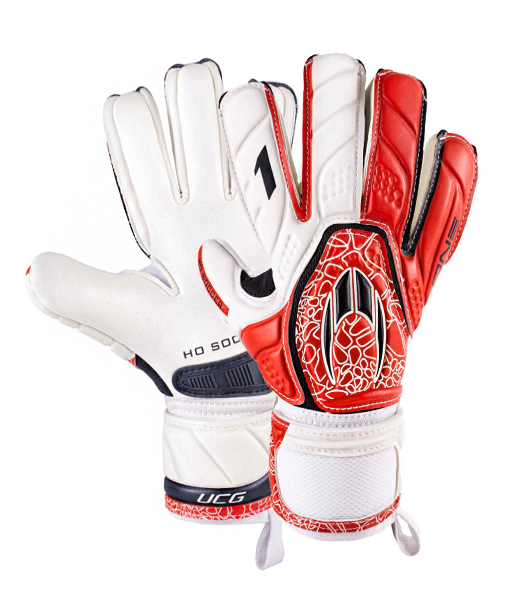 Перчатки HO Soccer One Negative Intense Red 051.0711
