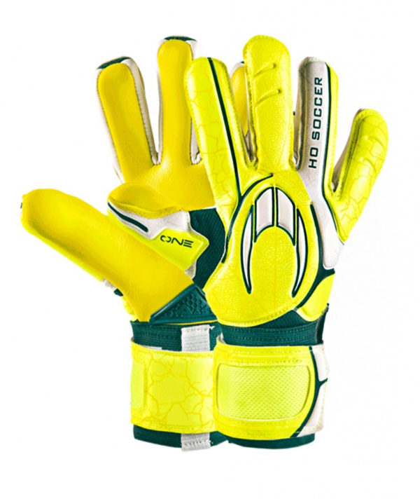 Перчатки HO Soccer One Negative Lime/Green 051.0813