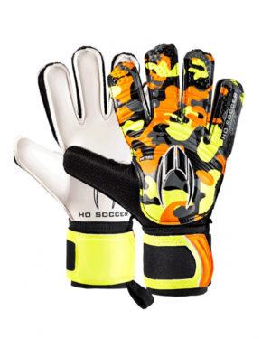 Детские вратарские перчатки HO Soccer Initial Flat Orange 051.0818